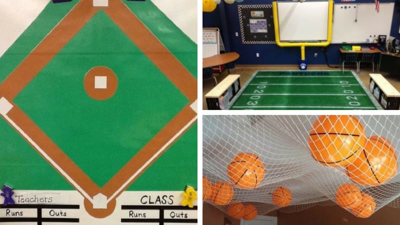 Ideas For A Sports Clroom Theme