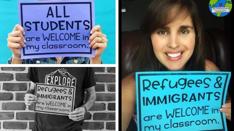 Teachers Honor World Refugee Day