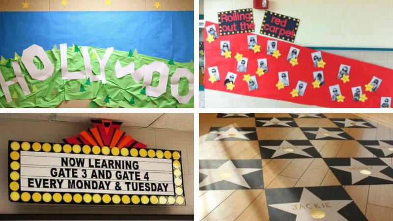 Best Hollywood Theme Classroom Ideas