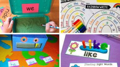 40 Sight Word Activities for the Classroom