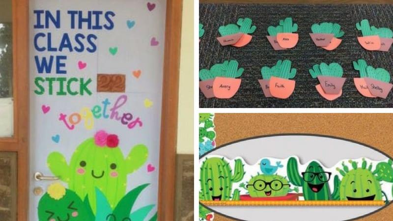 Classroom Topic Ideas ~ Cactus classroom theme ideas weareteachers