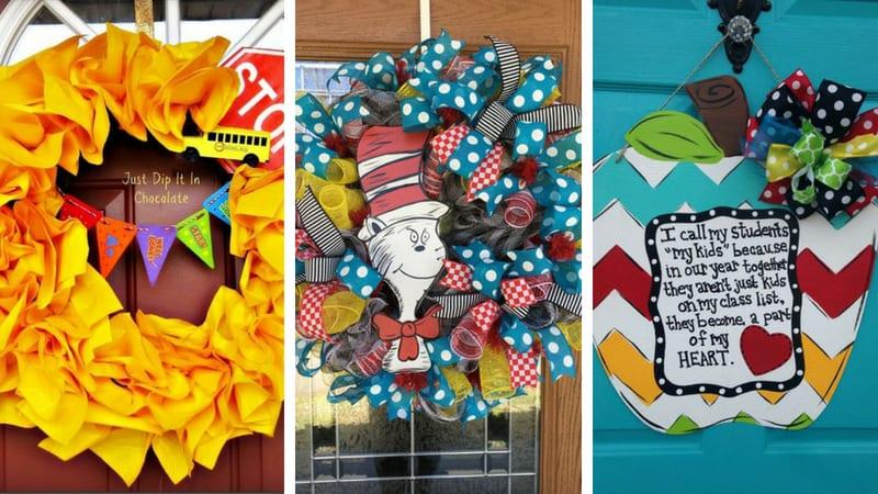 Best Teacher Wreaths for the Classroom