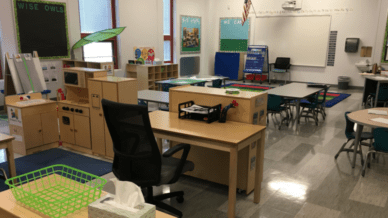 Minimalist Classroom Design
