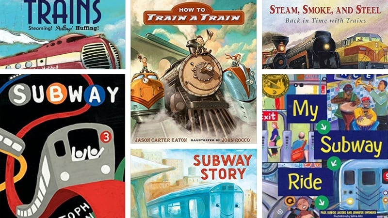 Best Train Books for Kids