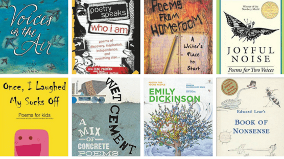 Best Poetry Books for Kids in Grades K-12