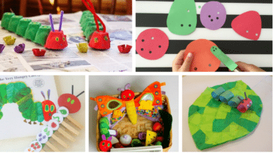 12 Adorable Very Hungry Caterpillar Activities