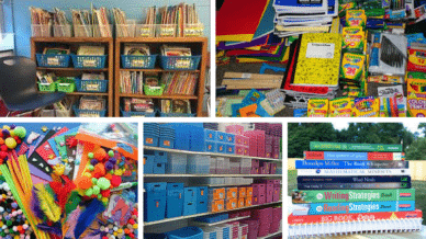 Too Much Teacher Stuff? A Guide for Clearing the Clutter