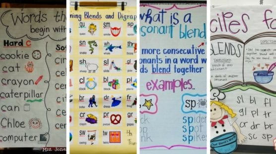 20 Phonics Charts We Want to Use Right Now