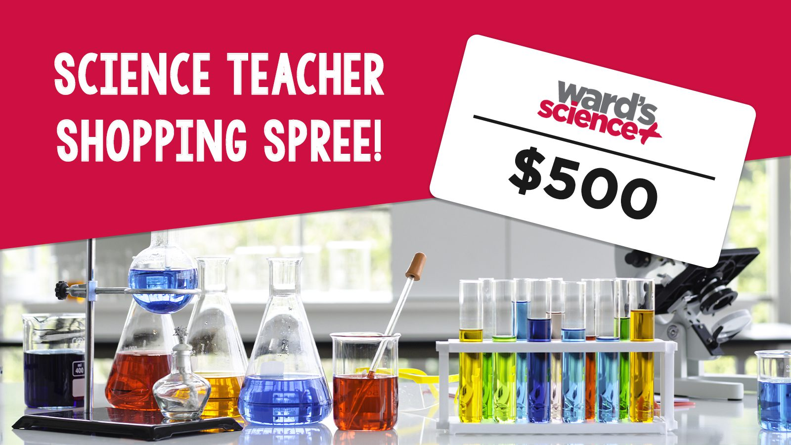 Back-to-Science Shopping Giveaway