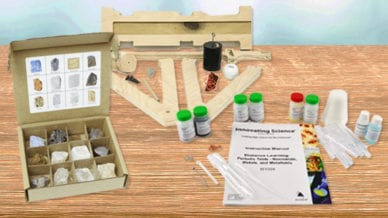 Science kits for distance learning