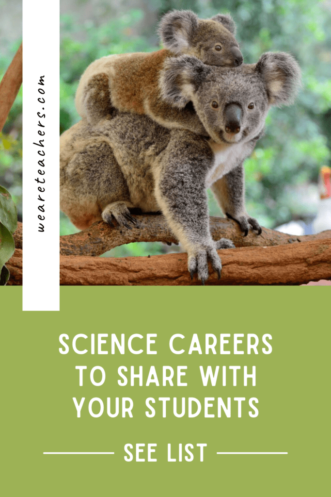 15 Surprising Science Careers to Share With Your Students