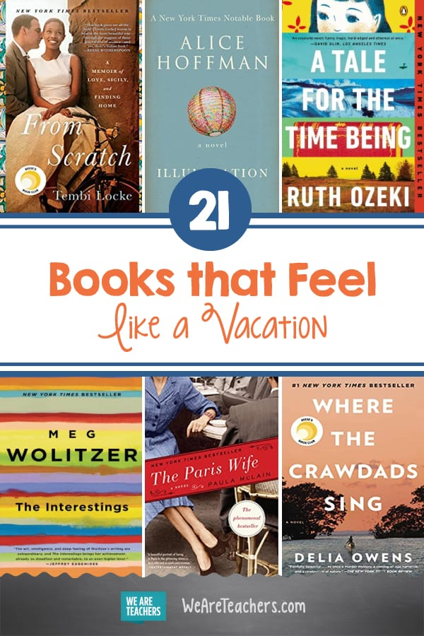 21 Books that Feel Like a Vacation