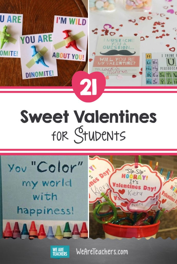 21 Sweet Valentines for Students (That Skip the Sugar)