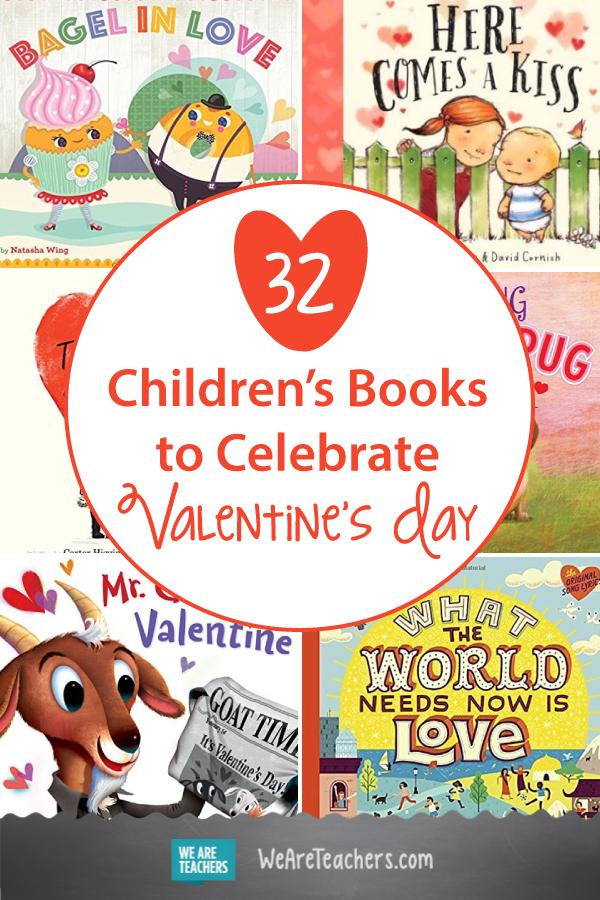 32 Children's Books to Celebrate Valentine's Day