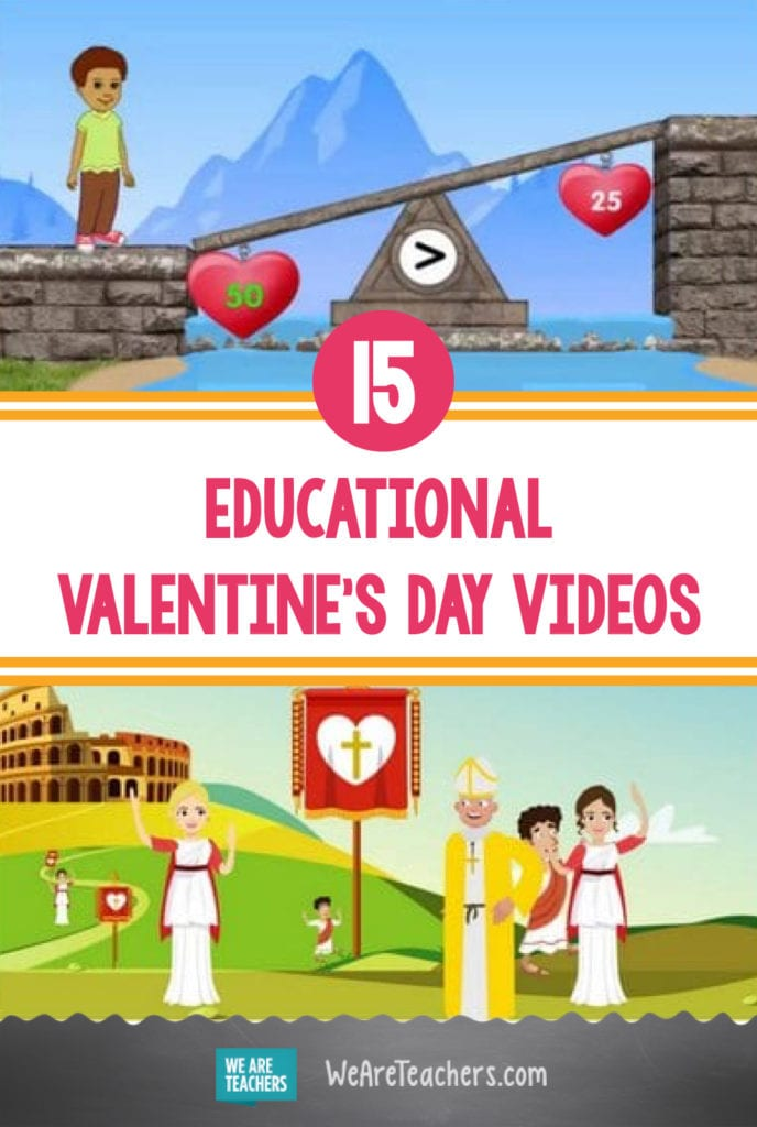 15 Sweet Educational Valentine's Day Videos That Kids Will Love