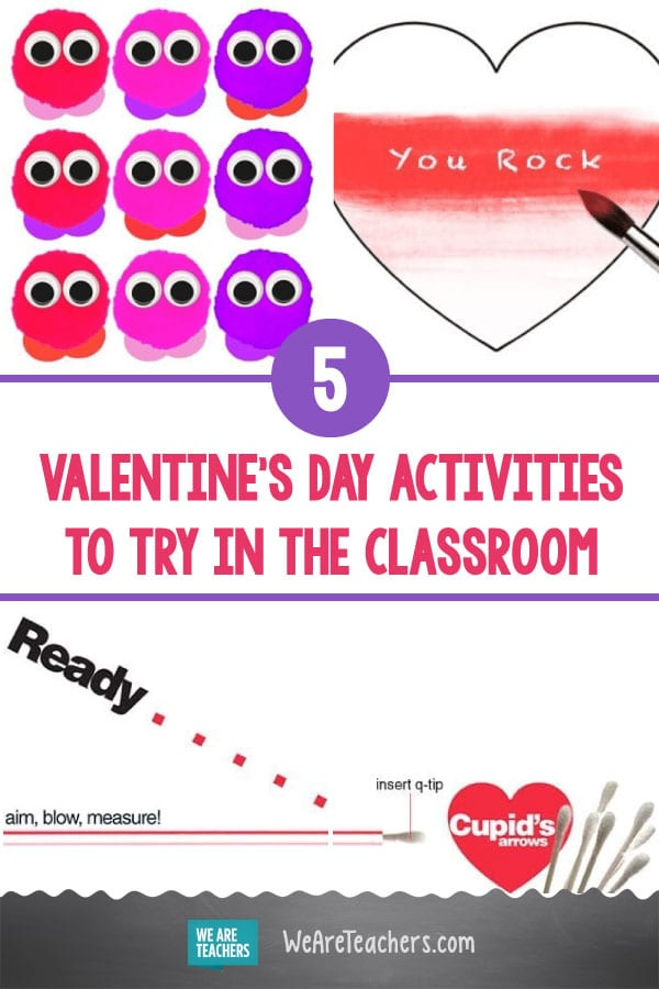 5 Quick, Fun, and Easy Valentine's Day Activities to Try in the Classroom