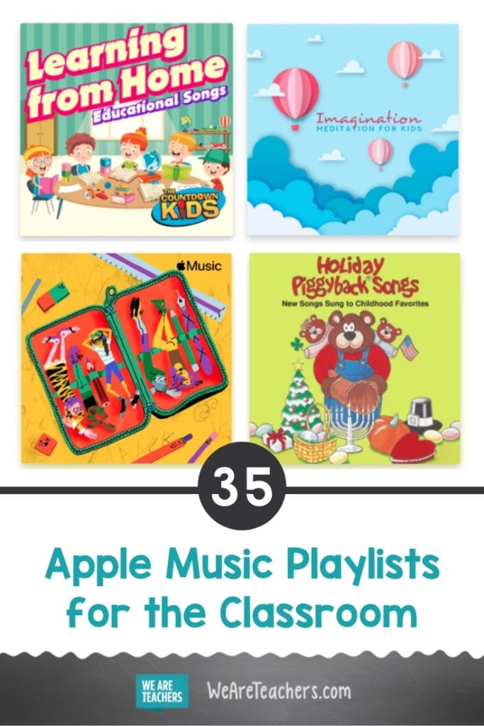 35 Apple Music Playlists for the Classroom