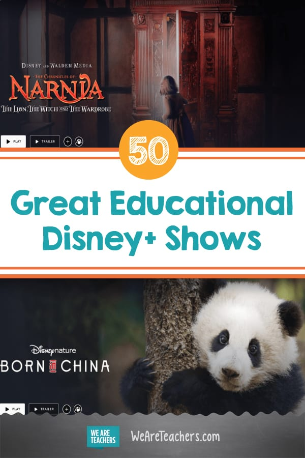 More Than Mickey: 50 Great Educational Disney+ Shows