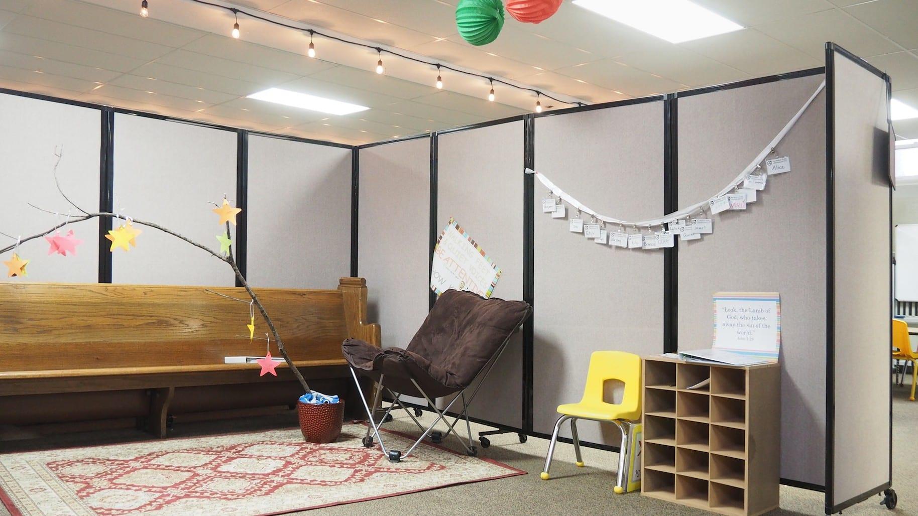 Win a custom room divider