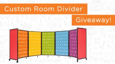 Win a classroom room divider