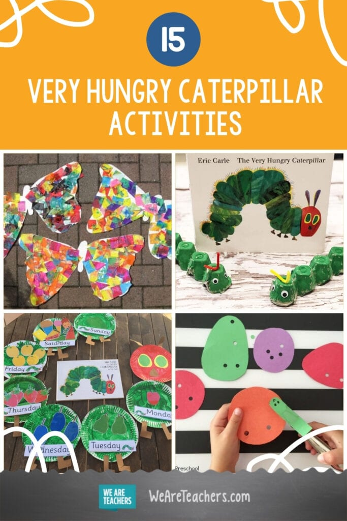15 Super Fun and Easy Very Hungry Caterpillar Activities