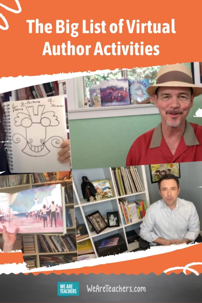 The Big List of Virtual Author Activities