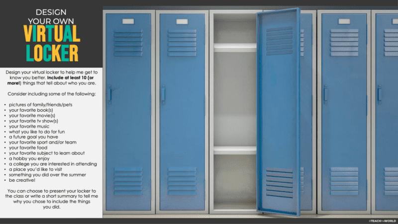Teachers Are Creating Their Virtual Bitmoji Locker