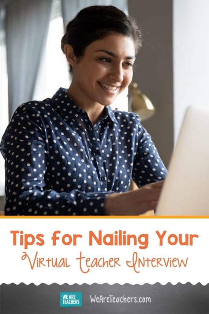 Tips for Nailing Your Virtual Teacher Interview