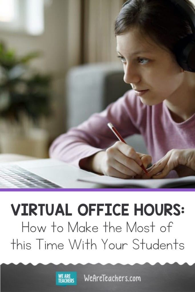 Virtual Office Hours: How to Make the Most of this Time With Your Students