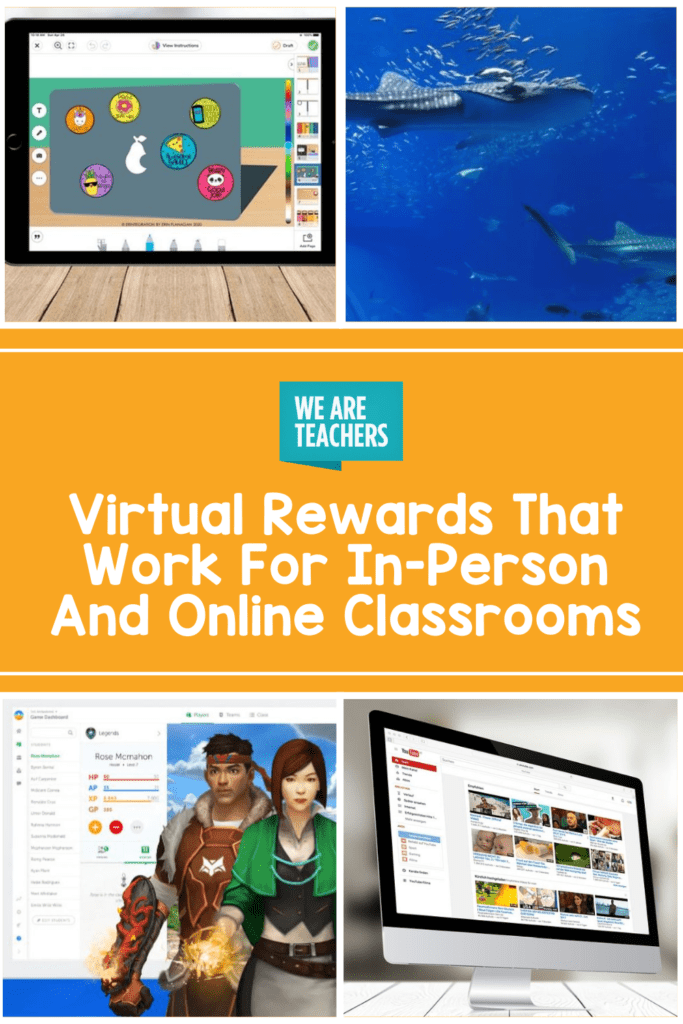Virtual Rewards That Work For In-Person And Online Classrooms