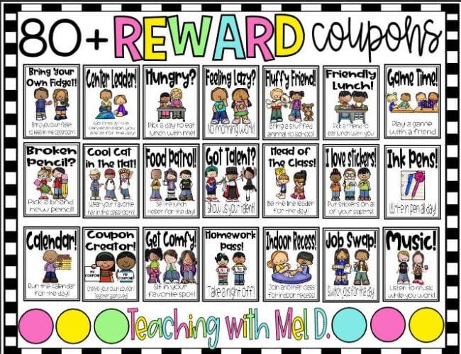 80+ Reward Coupons printable