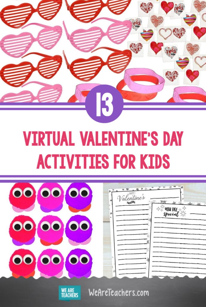 13 Easy and Fun Virtual Valentine's Day Activities for Kids