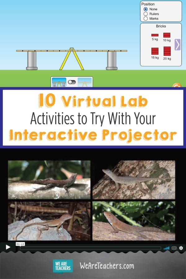 10 Virtual Lab Activities to Try With Your Interactive Projector