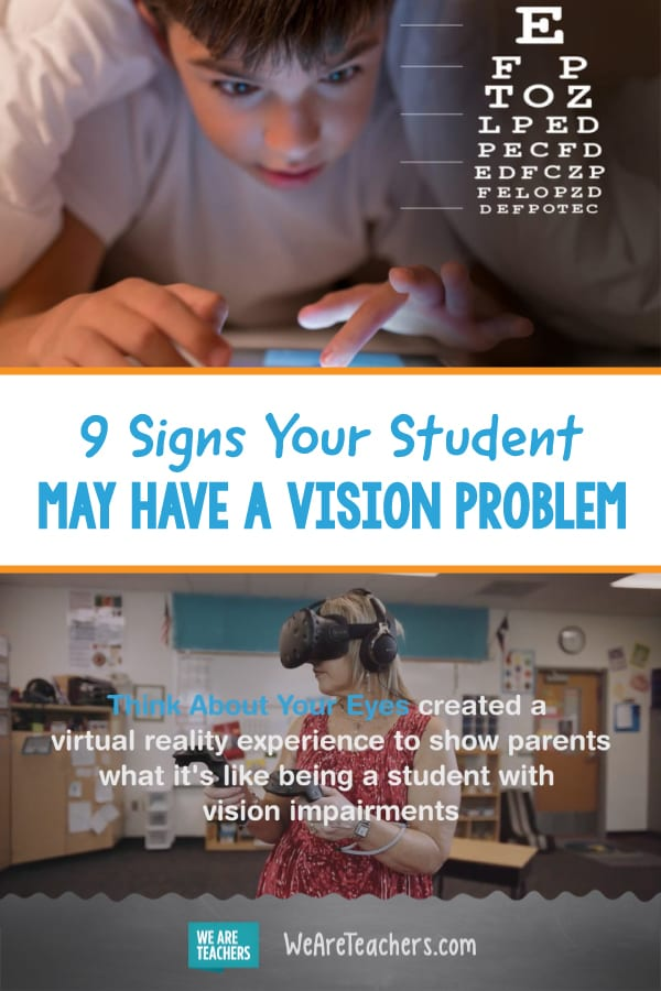 9 Signs Your Student May Have a Vision Problem