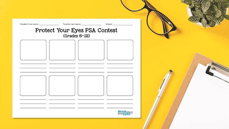 Protect Your Eyes PSA Contest - WeAreTeachers