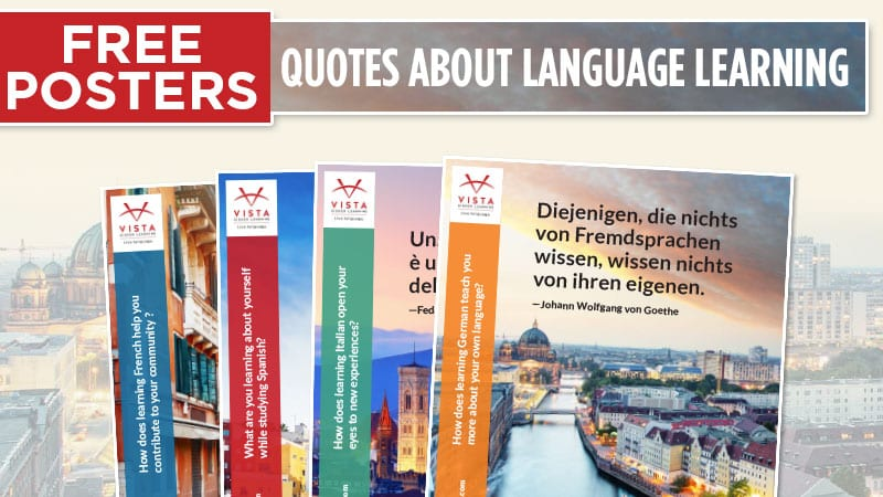 Quotes About Language Learning - Free Posters