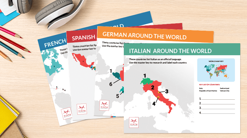 Celebrate Cultures Around the World With Free Language Map ...