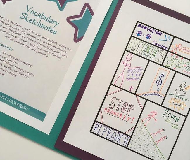 Vocabulary Activities Now Spark Creativity