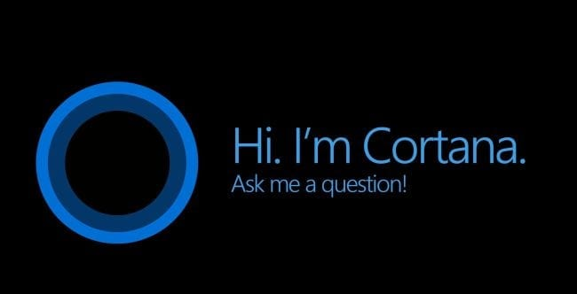 Voice Search in the Classroom Cortana