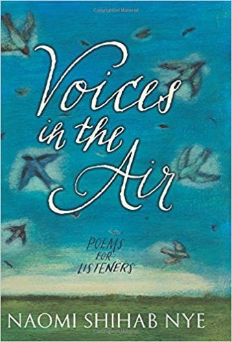 Book cover for Voices in the Air: Poems for Listeners, as an example of poetry books for kids
