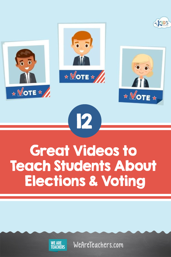 12 Great Videos to Teach Students About Elections & Voting