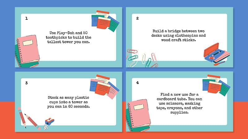 WAT - 25 First Grade STEM Challenges