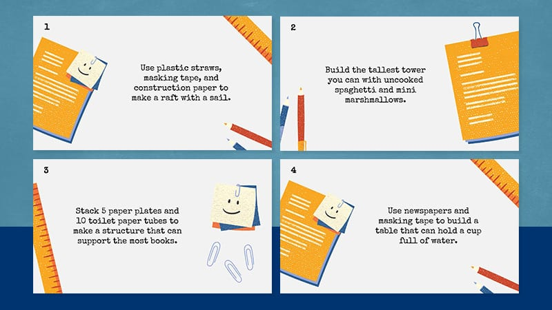 WAT - 25 Second Grade STEM Challenges