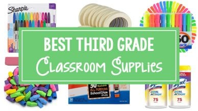 Best Third Grade Classroom Supplies