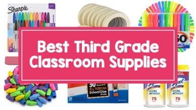 Best 3rd grade classroom supplies