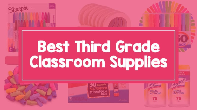 3rd grade supplies