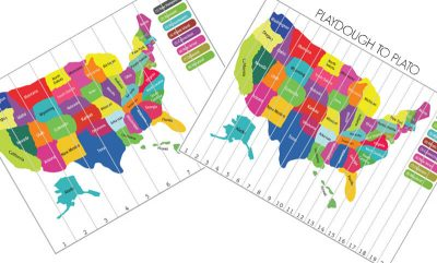 Map puzzle -- fourth of july activities