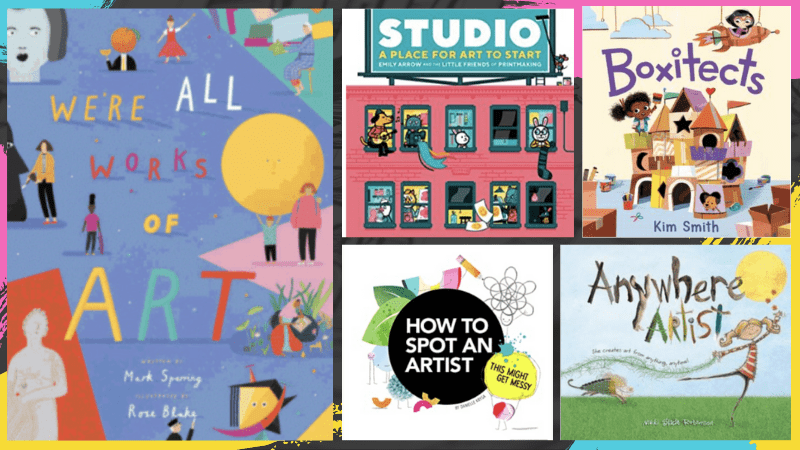 WAT Art Books for Kids