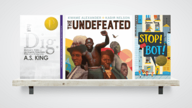 """""""Dig,"""" """"The Undefeated,"""" and """"Stop! Bot!"""" Children Books"""
