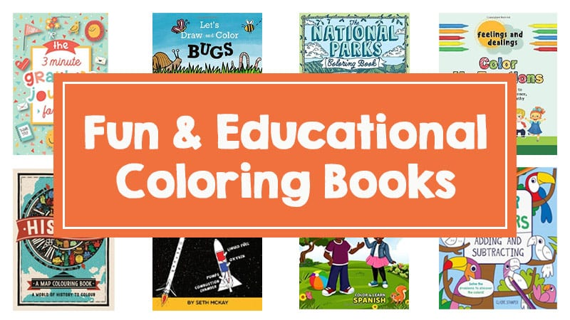 Best Educational Coloring Books, As Chosen By Teachers